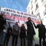 La comunidad saharaui residente en España y el movimiento solidario de los pueblos de España toman las calles de Madrid para condenar el acuerdo tripartito y la guerra de genocidio contra el Pueblo Saharaui.