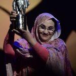 Felicitan Aminetu Haidar tras recibir el Premio Nobel Alternativo 2019.