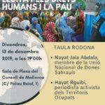 ISLAS BALEARES:  La resistencia de la mujer Saharaui y su lucha por los derechos humanos y la paz.