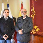 El delegado en Canarias del Frente Polisario, Handi Masur inició hoy viernes en Tacoronte los contactos con las instituciones del Archipiélago.