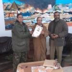 محمد الولي أعكيك يستلم مهامه وزيرا لشؤون الأرض المحتلة والجاليات.