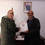 Salek Baba Hasena toma posesión y recibe la cartera de Trasporte y Energía.
