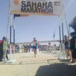 El atleta saharaui Lehsen Mohamed gana el primer lugar en la 20ª edición del Sahara Marathon