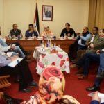 Representante del Frente Polisario para el Estado español, Abdulah Arabi, asumen sus funciones