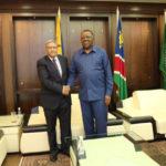 El presidente de Namibia reafirma su apoyo al derecho del pueblo saharaui a la autodeterminación e independencia