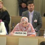 Aminatou Haidar pide a la ONU enviar comisiones de investigación a las zonas ocupadas del Sahara Occidental.