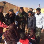 Inauguran la sede de la Organización de Exploradores saharauis
