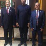 El Ministro de Relaciones Exteriores de Nigeria recibe a Embajador saliente de la RASD