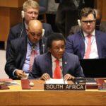 Sudáfrica advierte al Consejo de Seguridad sobre las violaciones de Marruecos en las zonas ocupadas del Sahara Occidental.