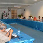 El Gobierno Saharaui se reúne para responder a las preguntas de los miembros del Consejo Nacional sobre el programa del gobierno 2020.