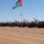 Dieciséis días consecutivos de bombardeos y ataques a posiciones enemigas a lo largo del muro militar marroquí