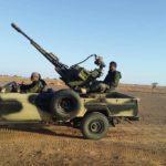 44 días bombardeando las fuerzas de ocupación a lo largo del muro militar marroquí