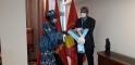 Recibe la Secretaria General de la Organización de la Mujer Angoleña al embajador de la RASD en Luanda