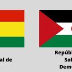 """Bolivia y la República Saharaui retoman relaciones diplomáticas y llaman a """"fortalecer"""" los vínculos entre ambos países"""